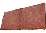 gumowa płyta elastyczna - czerwona