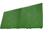gumowa płyta elastyczna - zielona